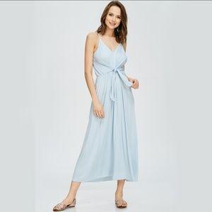 Dresses & Skirts - Striped Tie Waist Maxi Dress